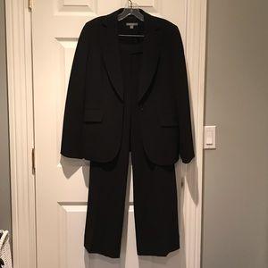 Suit. Classic black Ann Taylor jacket and pant